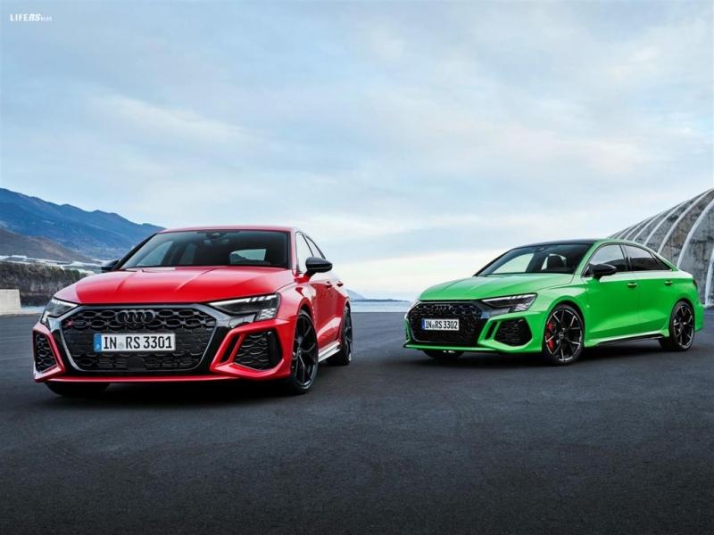 Audi RS 3 Sportback e Sedan: al via la prevendita in Italia