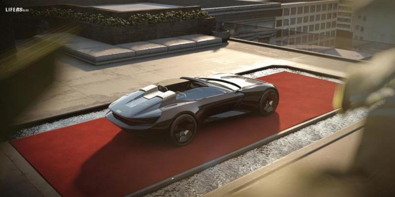 Audi skysphere concept: la roadster del futuro